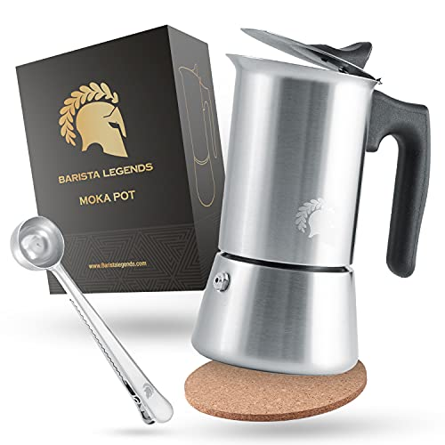 Barista Legends® Espressokocher Induktion...