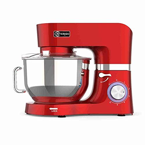Küchenmaschine 1500W Knetmaschine mit 6,2L...