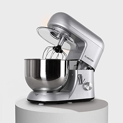 Klarstein Bella Argentea - Küchenmaschine,...