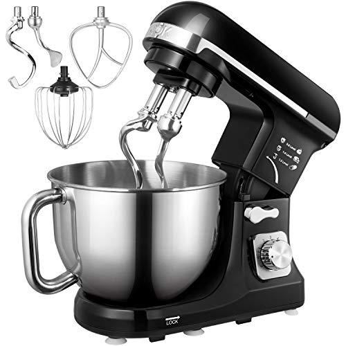 Küchenmaschine, Aicok 5L Weniges Geräusch...
