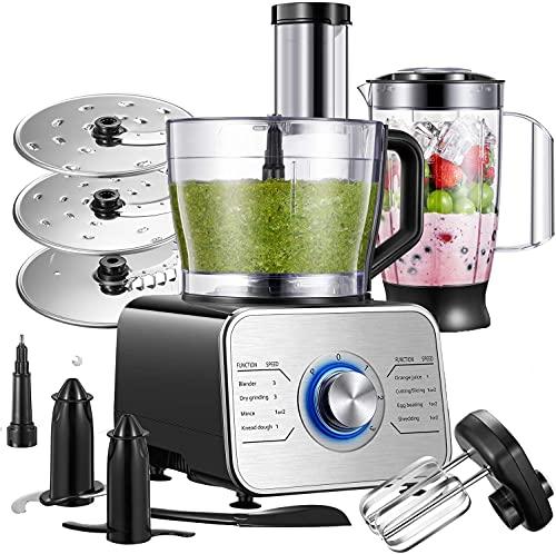 Küchenmaschine Multifunktional, 1100W Food...