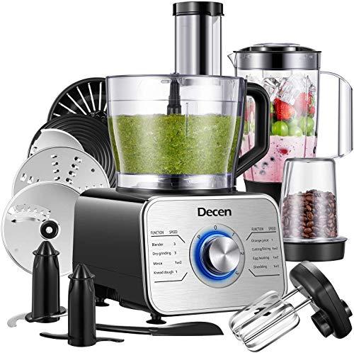 Decen Küchenmaschine Multifunktional, 1100W...